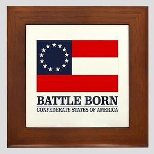 Battle Born Framed Tile