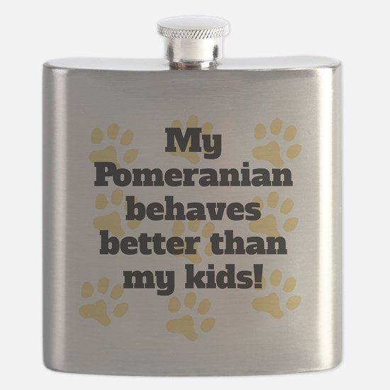My Pit Bull Behaves Better Flask