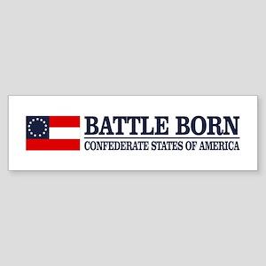 Battle Born Bumper Sticker