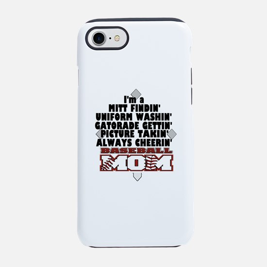 Baseball Mom iPhone 8/7 Tough Case