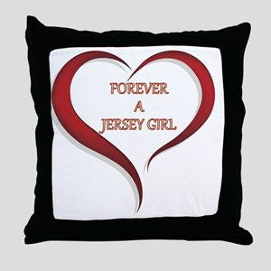Forever Jersey Throw Pillow