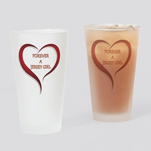 Forever Jersey Drinking Glass