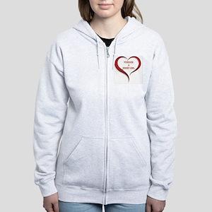 Forever Jersey Women's Zip Hoodie