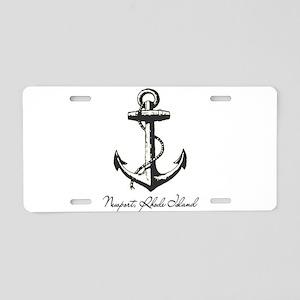 Newport, Rhode Island Anchor Aluminum License Plat