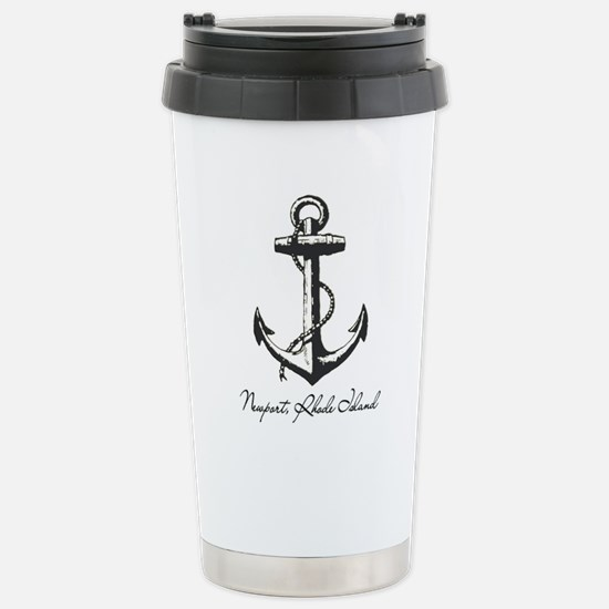 Newport, Rhode Island Anchor Travel Mug