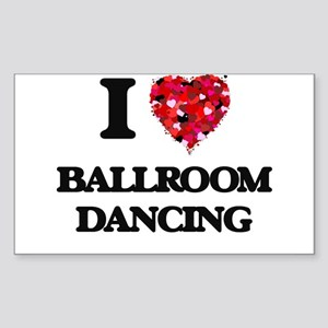 I love Ballroom Dancing Sticker