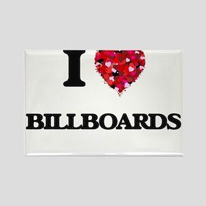 I love Billboards Magnets