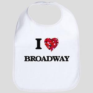 I love Broadway Bib