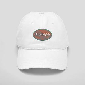 Philadelphia rustic teal Cap