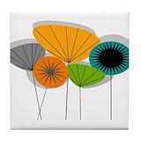 Mid century modern Tile Coasters
