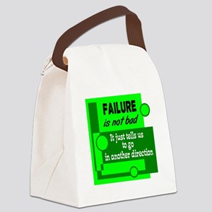 Failure Not Bad Canvas Lunch Bag