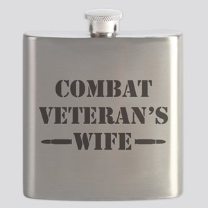 Combat Veteran's Wife Flask