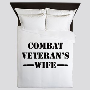 Combat Veteran's Wife Queen Duvet