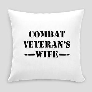 Combat Veteran's Wife Everyday Pillow