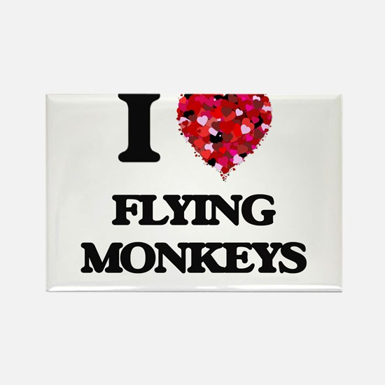 I love Flying Monkeys Magnets