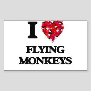 I love Flying Monkeys Sticker