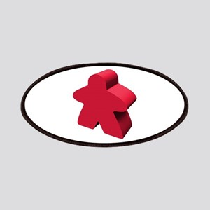 Red Meeple Patch