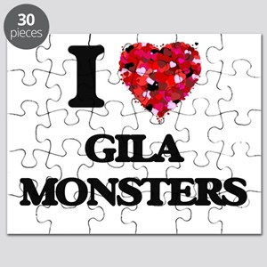 I love Gila Monsters Puzzle