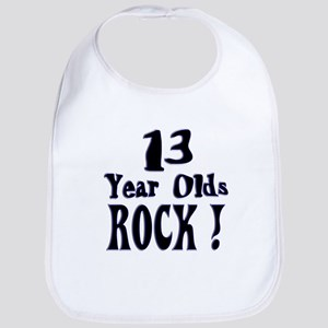 13 Year Olds Rock ! Bib