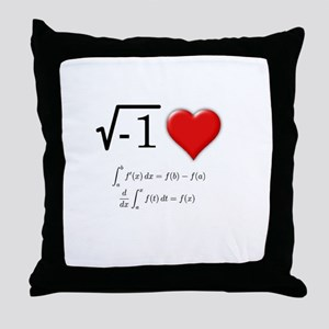 I Love Calculus Throw Pillow