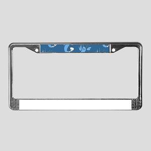 Blue Lobster for Hirco License Plate Frame