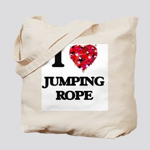 I love Jumping Rope Tote Bag