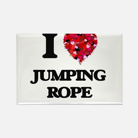 I love Jumping Rope Magnets