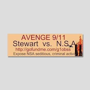 AVENGE 9/11 Car Magnet 10 x 3