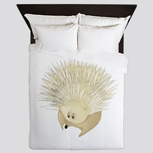 Hedgehog Queen Duvet