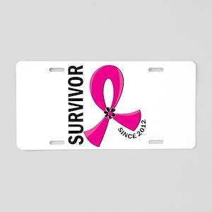Survivor Since 2012 12.2 Br Aluminum License Plate