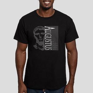 AUGUSTUS, IMERATOR Men's Fitted T-Shirt (dark)