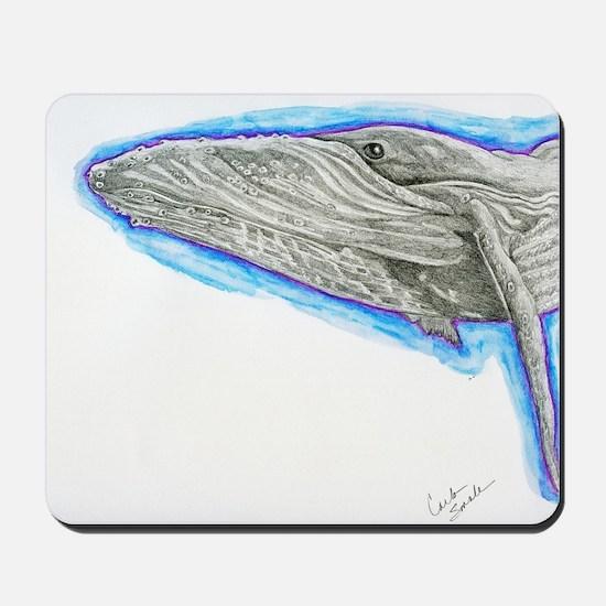 Humpback Whale Original Mousepad
