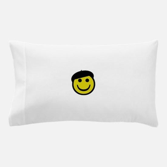 Je suis heureux Pillow Case