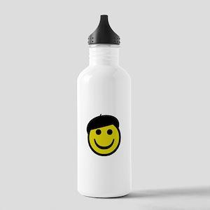 Je suis heureux Water Bottle
