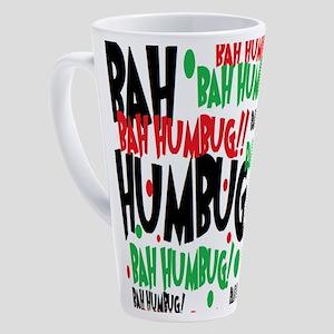 Bah Humbug Chr 17 oz Latte Mug