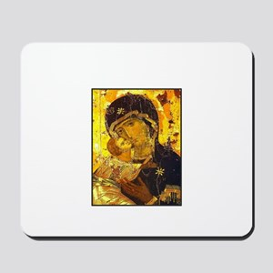Mary - Theotokos- Russian holy protectress Mousep