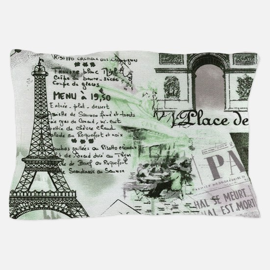 Paris 4 Pillow Case