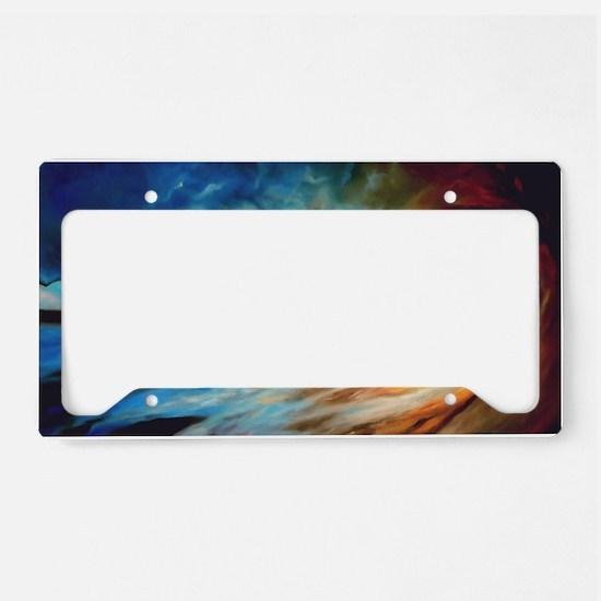 Destiny's Persistance License Plate Holder