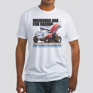Sprintcar Fitted T-Shirt