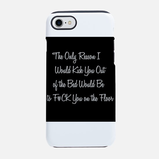 Naughty: F*ck on the floor iPhone 8/7 Tough Case