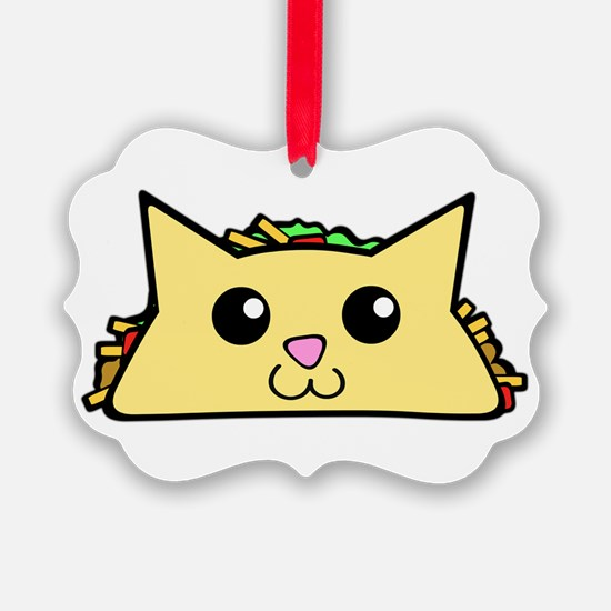 Taco Cat Ornament