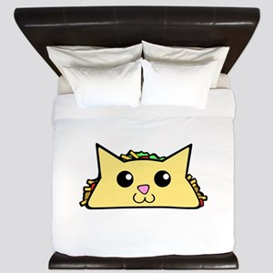 Taco Cat King Duvet