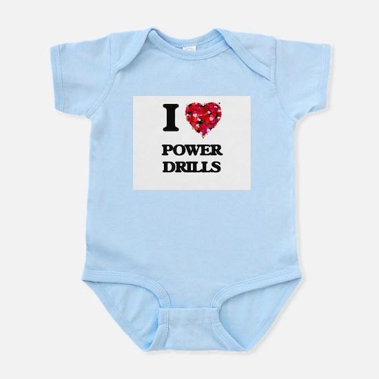 I love Power Drills Body Suit