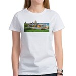 Old Quebec Panoramic View Women's T-Shirt