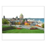 Old Quebec Panoramic View Small Poster