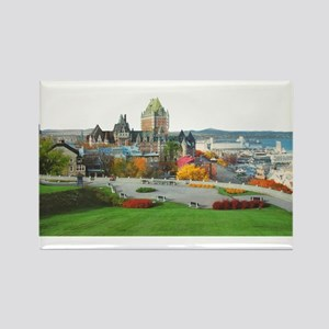 Old Quebec Panoramic View Rectangle Magnet