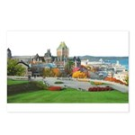 Old Quebec Panoramic View Postcards (Package of 8)