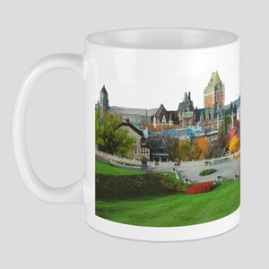Old Quebec Panoramic View Mug