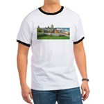 Old Quebec Panoramic View Ringer T