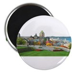 Old Quebec Panoramic View Magnet
